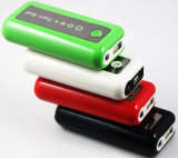 Dubbele USB Output 5V DC/1A en 5V DC/1A, Mobiele Bank