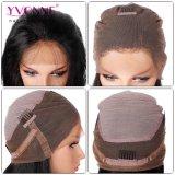 Parrucca brasiliana diritta naturale del merletto dei capelli umani dei capelli di Yvonne