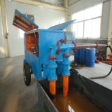 Bomba de transtorte concreta da espuma hidráulica