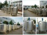 Tanque sanitário da fermentação do leite do vapor do aço inoxidável 1000L do alimento