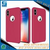 iPhone подгонянное продуктом жидкостное силикона Гуанчжоу сотового телефона аргументы за x