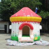 4*4*4m wenig aufblasbares Schlag-Haus, kleines Weihnachtsfedernd Schloss, Feiertags-aufblasbares springendes Bett für Kinder im Haus und Yard