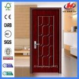 O material HDF/MDF de Modeld nivela a porta do PVC