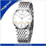 方法標準的なビジネスマンの腕時計の防水水晶