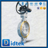 Didtekの低いトルク操作の三倍のウエファー様式の蝶弁