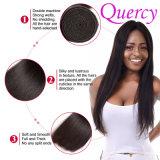 Cabelo por atacado reto profissional das mulheres do cabelo humano, trança longa brasileira do cabelo, cabelo da trança do Crochet