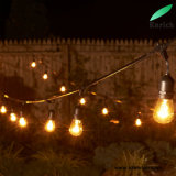 15 Dropped Sockets를 가진 옥외 Weatherproof S14 LED String Lights 48FT