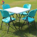 Garten-Partei-Farben-wahlweise freigestellter Plastikfalz-Stuhl