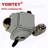 Valvola elettrica specialmente progettata dell'acciaio inossidabile con l'interruttore limitato