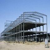 Geprefabriceerd huis die Structuur van het Staal van de Vervaardiging van de Bouw van de Grote Spanwijdte de Geprefabriceerde Lichte bouwen