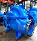 Horizontale einzelnes Stadiums-aufgeteilte Fall-Pumpe - Abwasserbehandlung