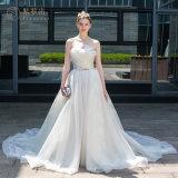Heißer Verkaufs-Organza Deatchable, das Brautkleid Wedding ist