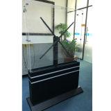 Des LED-Ventilator-3D Ventilator Hologramm-der Bildschirmanzeige-LED 100cm