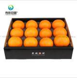 Печать из гофрированного картона цвет фруктов (оранжевого цвета) упаковочной коробке для хранения