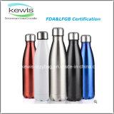 500ml botella de agua de acero inoxidable 304 para regalo promocional