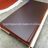 15 mm color negro o marrón Film enfrenta el contrachapado para la construcción o edificio