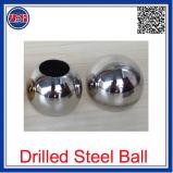 Sfera perforata su Polished della cavità dell'acciaio inossidabile, sfera dell'acciaio inossidabile con il diametro 19mm-2500mm del foro