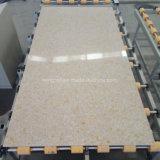 Superficie di marmo naturale del quarzo della contro parte superiore della vena