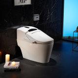 الحمام الكهربائي في وضع الوقوف في الأرضية مرحاض خزفي مرحاض ذكي