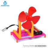 Jouet de la tige de commande de température de la science du ventilateur de jouets éducatifs petit modèle de l'Assemblée de la production de jouets de bricolage