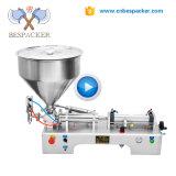 Bespacker G1WTD semi-automático colar pneumático congestionamento da máquina de enchimento de ketchup iogurte máquina de enchimento cremes cosméticos máquina de enchimento
