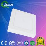 18W montadas à superfície da luz do painel de LED com formato arredondado para iluminação doméstica