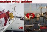 300W красный фонарь вертикальной оси малых ветряной мельницы генератора