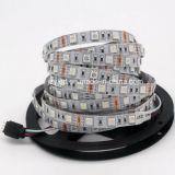indicatore luminoso di striscia flessibile di 12V SMD 5050 RGB LED