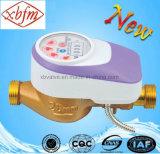 真鍮ボディICカードの冷水のメートル(PurpleColor)