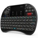 Het nieuwste Draagbare X8 Toetsenbord Touchpad Combo van de Afstandsbediening van de Muis 2.4GHz van de Vlieg van de Lucht Rii Mini Draadloze met 71-sleutels Twee Backlight