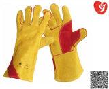 親指と人差し指間の部分のLinging&Reinforcementの革靴の皮手袋