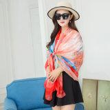 Barato Venda quente protectores solares lenços toalhas de praia