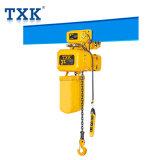 3ton Txkのマスターシリーズトロリーが付いている電気チェーン起重機