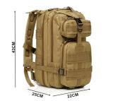 9-couleurs de l'Armée de niveau III Outdoor Camping Randonnée sac sac à dos militaire tactique