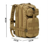 9 cores de nível III Army Piscina Camping Caminhadas Saco táctico mochila Militar