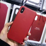Chegada de novas linhas de couro macio Slim PU caso com Metal inserindo para iPhone