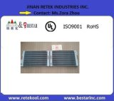 Matériau aluminium Micro Channel Chiller condenseur