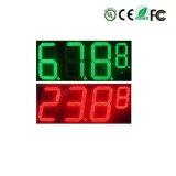20 di cartello di tempo di prezzi di gas di pollice LED LED Digitahi
