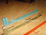 Tipo galvanizzato parapetti del tubo del quadrato della parte girevole dell'impalcatura per costruzione