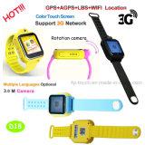 3G GPS van het Scherm van de Aanraking van WiFi het Horloge van de Drijver voor Kind (D18)