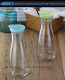 bouteille en verre de prix usine 1L pour la boisson, lait, mémoire de jus