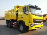 Sinotruk 6*4 371HP HOWO um caminhão basculante7 Zz3257N3647n1