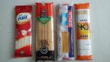 Tallarines automáticos de las pastas del espagueti que pesan la empaquetadora con dos pesadores