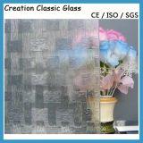 кислота 4-12mm вытравила стекло картины и заморозила стекло искусствоа (4-12mm)