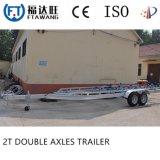 Galvanisierung-einzelner Yacht-Boots-Schlussteil mit Rollen-Doppelt-Wellen-Boots-Schlussteil