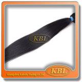 Brasilianisches Strahlen-Schwarzes unverarbeitetes Remy Haar