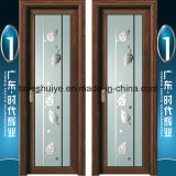 Salle de bains de porte intérieure en aluminium porte battante porte des charnières de porte