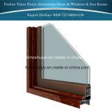 Puertas exteriores de aluminio de las puertas interiores con funciones termales del freno