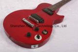 Des Wein-Rot-P90 Gitarren-Installationssätze Aufnahmen-Langspielplatte-Art-elektrischen der Gitarren-/DIY (GLP-80)