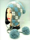 겨울에 의하여 뜨개질을 하는 모자 (YYCM-120384)